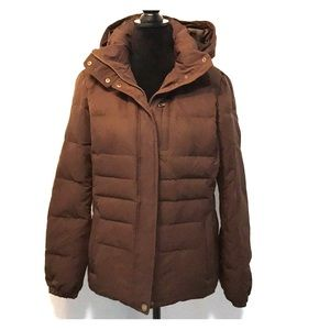 Lands' End girls down coat